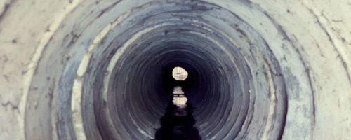 Look inside pipe